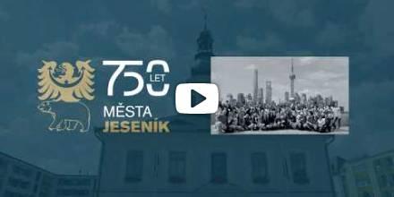 Ocenění k výročí 750 let města Jeseníku