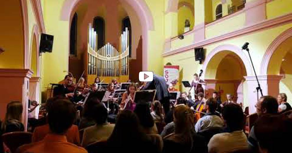 Koncert pro Světlušku 11.9.2017 - Kaple