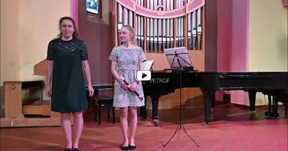 1. Absolventský koncert - květen 2021