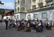 DOM ZUŠ Jeseník a Crazy Girls - Koncert před sanatoriem Priessnitz