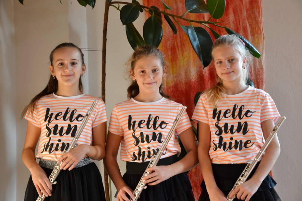 Flétnové trio na Dittersově soutěži