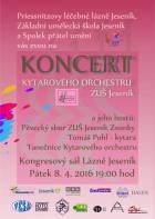 Mimořádný koncert Kytarového orchestru ZUŠ Jeseník 8.4.2016