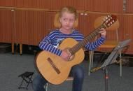 Soutěž ve hře na kytaru 30. ledna 2014 ZUŠ Březinova