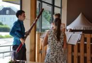 Prázdninový koncert hobojové a fagotové třídy MgA. I. Trojanové