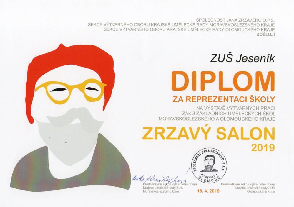 Výtvarný obor vystavuje v Ostravě!