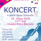 """Pozvánka na """"Koncert k poctě Pavla Jurkoviče 2018"""""""