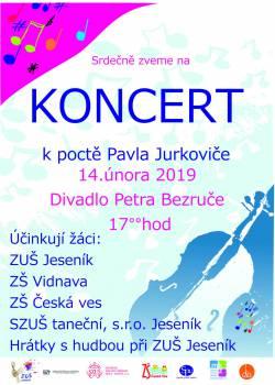 Koncert k poctě P. Jurkoviče