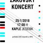 Koncert žáků ZUŠ Jeseník