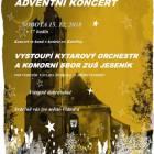 Adventní koncert Kytarového orchestru a Komorního sboru