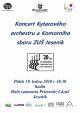 Podvečerní koncert ZUŠ Jeseník
