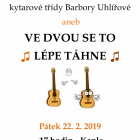 Koncert žáků ze třídy Barbory Uhlířové