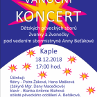 Koncert pěveckých sborů Zvonky a Zvonečky