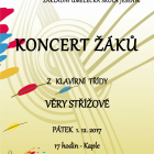 Koncert žáků ze třídy Věry Střížové